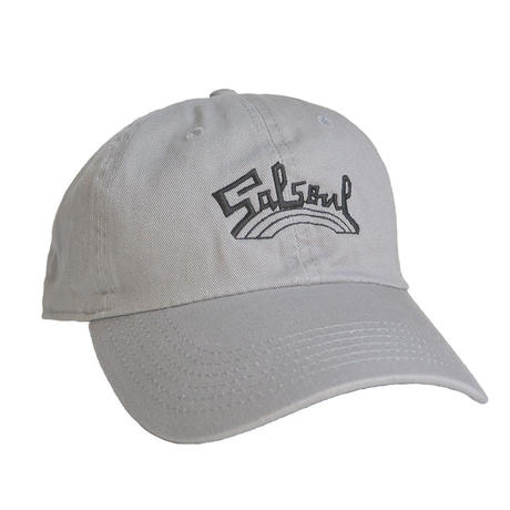 """""""Salsoul Records"""" / Washed Twill Low Cap / gray (luz.sal.g.c)"""
