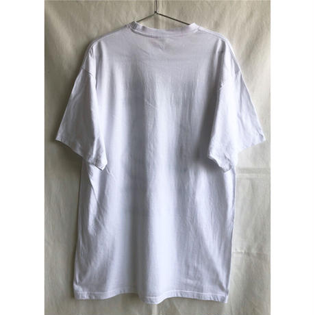 """【used / germany / CP Club Berlin】""""punch / fiste"""" T shirts  -XL / white- ( OM-216-40)"""
