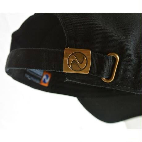 """""""Sire Records"""" / Washed Twill Low Cap / Black (luz.si.b)"""