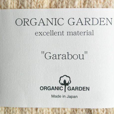 "Restock ! ""organic garden"" ガラボウ スニーカーソックス (natural/生成り) 22-24cm & 25-27cm (os_nat)"
