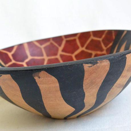 """zimbabwe"" hand made gourd bowl -medium- (zbm003)"