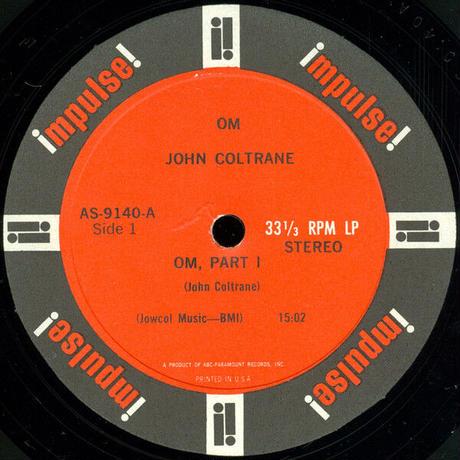 "【KHONKA KLUB / from CANADA】""John Coltrane - OM "" pin badge (kk-b-47)"