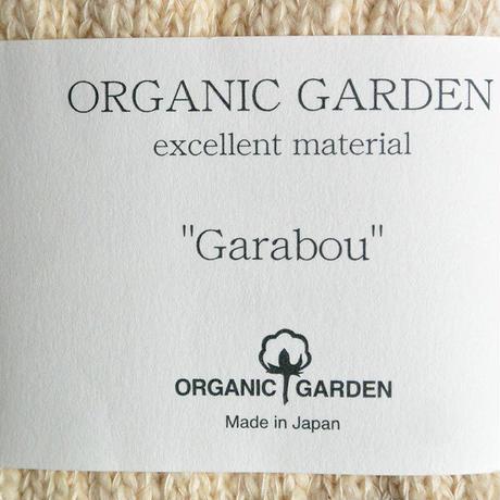 "Restock ! ""organic garden"" ガラボウ ミドルソックス (natural/生成り) 22-24cm &25-27cm (om_nat)"