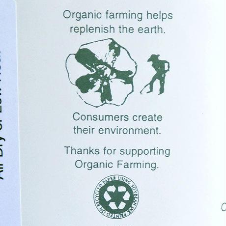 """ORGANIC THREADS"" organic regular crew socks ""3pack set"" -green-  [s.m.l.3size] (otr_grn)"