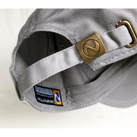 """""""Island Records"""" / Washed Twill Low Cap / gray  (luz.is.g)"""
