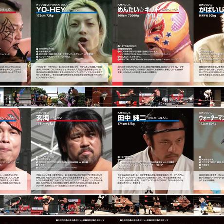 【無料おためし版】ローカルプロレスラー図鑑2015【PDF】