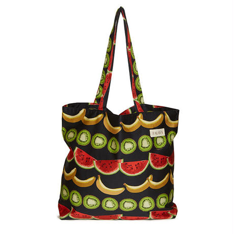 cotton shopper/fruit salad/black