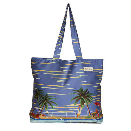 cotton shopper/the riviera/blue