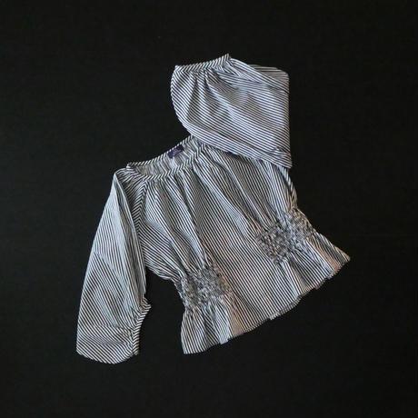 【期間限定・受注生産】LYS -fantasia for your dress- Marie Blouse stripe [black]