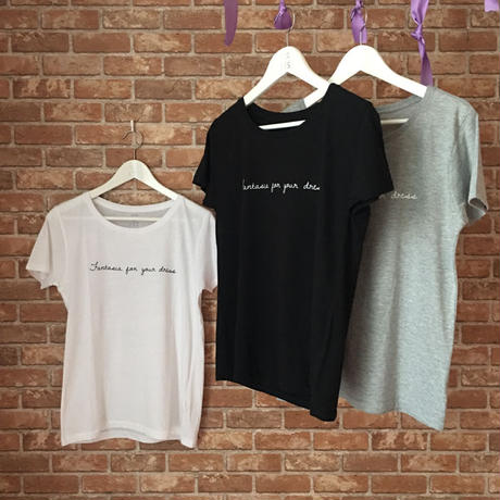 LYS -fantasia for your dress- Tシャツ  [black]