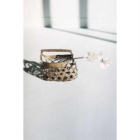花器籠バッグ向日葵