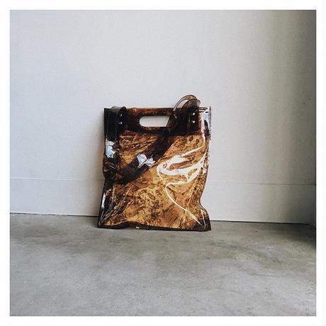 琥珀プリントトートバッグ