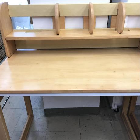 学習机と姿勢を正す椅子セット!
