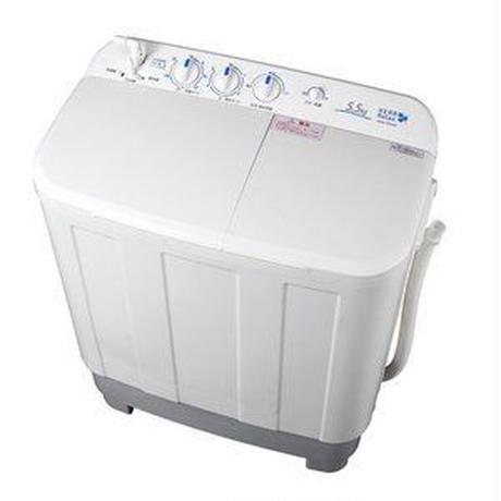 ★新品★ HERBRelax(ハーブリラックス) YWMTD55G1 二槽式洗濯機 5.5Kg ホワイト
