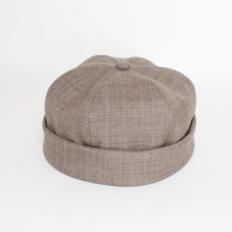 Roll Up Cap (man ) light brown