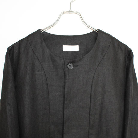 Baseball Jacket (man) linen black