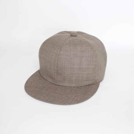 Adjuster Soft 6 Panel Cap(man) light brown