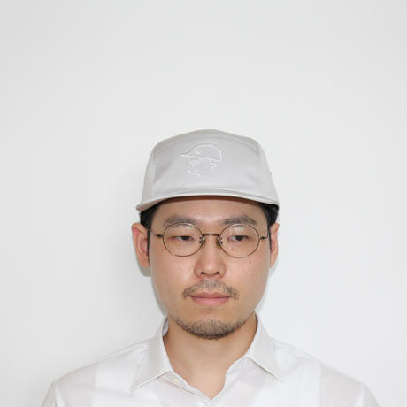 【Seiji Matsumoto × mitake】 Collaboration Jet Cap ( man )ice gray