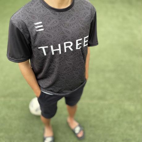 THREE×Kosuke Kawamura  Paisley Training shirt