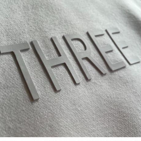 THREE  3D Logo Hoodie