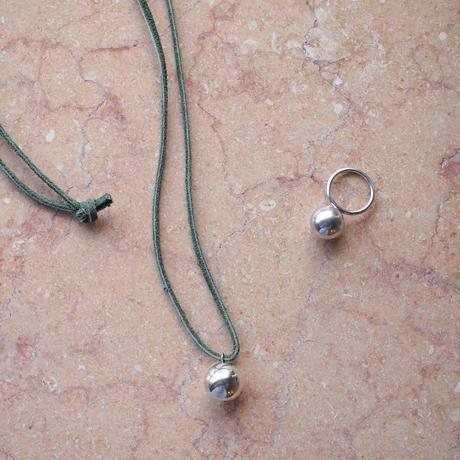 bola leather necklace