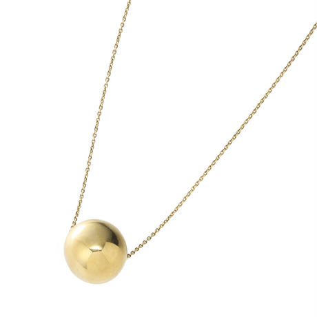 bola chain necklace  (gold)