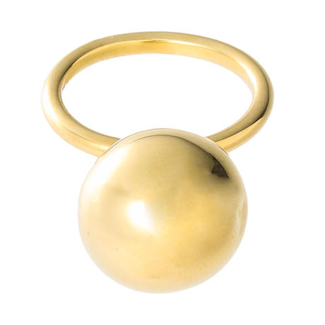 bola ball ring (gold)