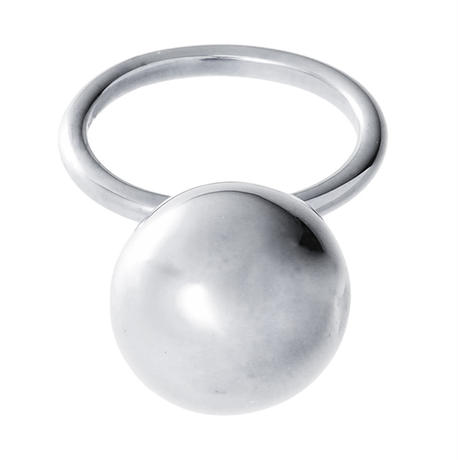 bola ball ring (silver)