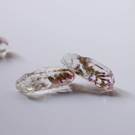 氷ピアス/イヤリング スターチス
