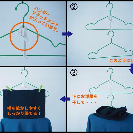 Kimamaキンチャクネックシャツ(木綿 あいねず)【受注生産対応】