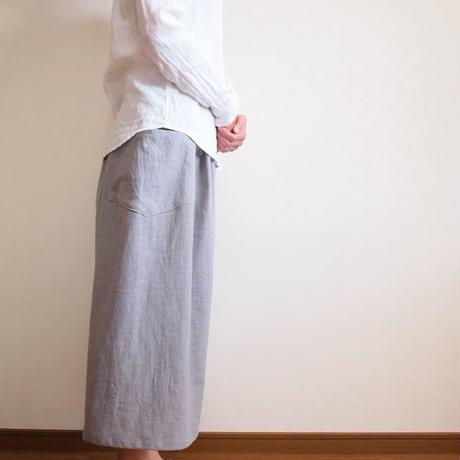 Kimamaキュロット(木綿 グレー)【受注生産対応】
