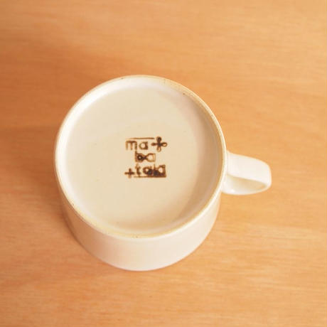 Kimamaマグカップ(白マット)
