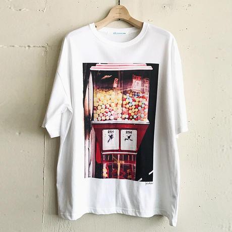 10周年記念Tシャツ 2001年 ニューヨーク「ガチャガチャ」by Kazutaka Nakamura