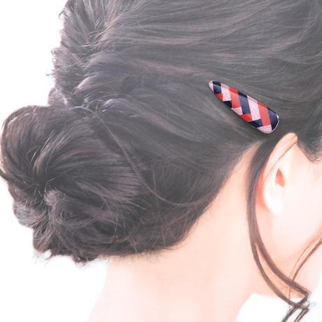 檜垣*美濃和紙のヘアクリップ*小さめ