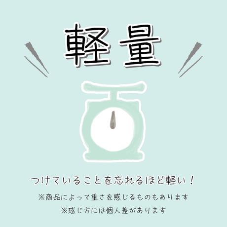 美濃和紙のイヤリング/ピアス*纏-MATOU-*雫とヴィンテージビーズ/ビビットピンク