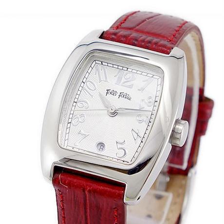フォリフォリ FOLLI FOLLIE クオーツ レディース 腕時計 S922DARKRD
