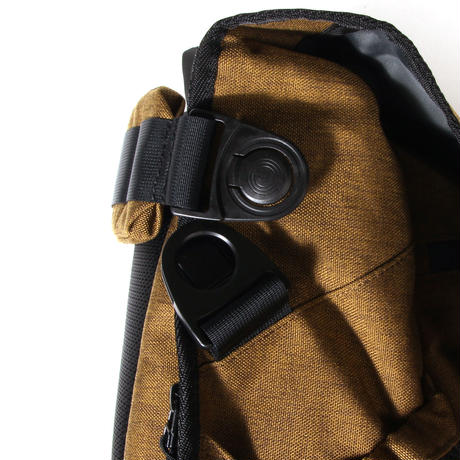 Snapper messenger/brown