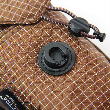 lid pouch (spectra brown)