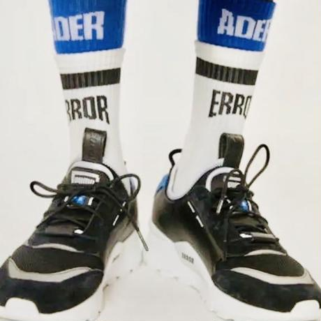 ADER ERROR socks  blue/white