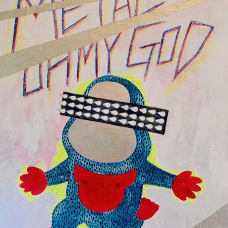 複製画パネル「METAL OH MY GOD」#022 キャンパス (F15)