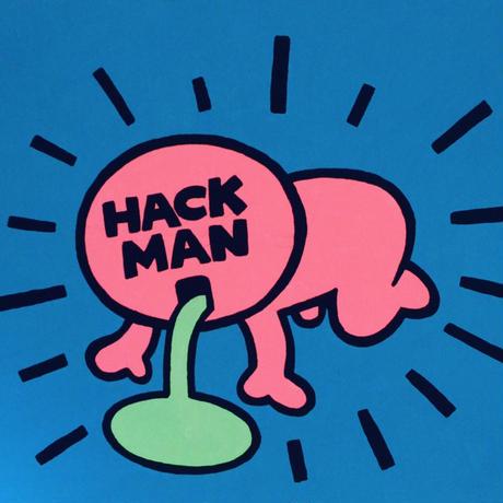 複製画パネル「HACKMAN」#028 キャンパス (F15)