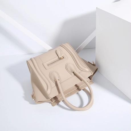 Cream Luggage Bag mini