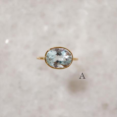 Aquamarine アクアマリン-K10- Ring