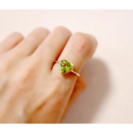 Peridot ペリドット-K18- Ring