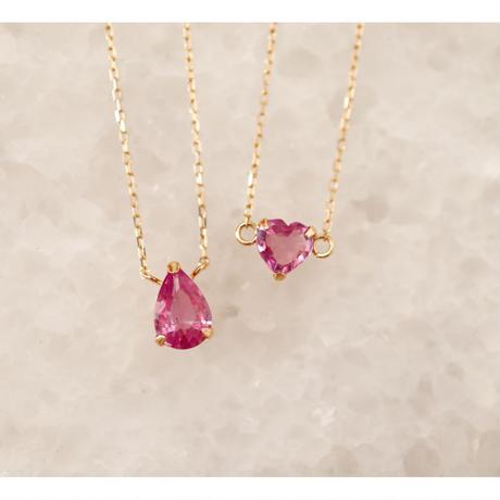 Pink Sapphire ピンクサファイア-K18- ブレスレット