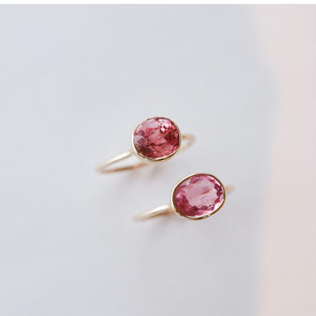 Pink Tourmaline ピンクトルマリン-K10- Ring