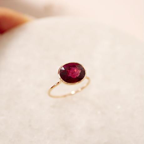 Pink Tourmaline ピンクトルマリン -K10- Ring