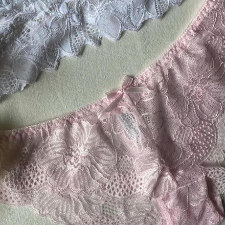 white × pink【N-0033】