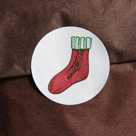 トッパンシール / 4面 - まる - クリスマス