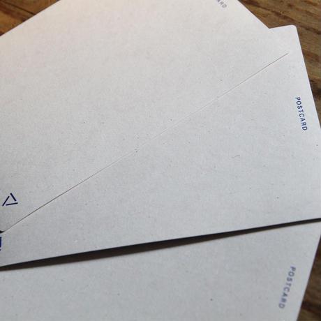 ポストカード / プレーン - グレー